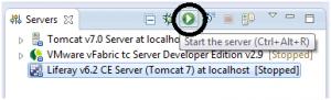 arrancar liferay server